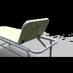 AVA vizsgálóasztal - porfestett