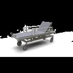 Hidraulikusan állítható betegszállító kocsi