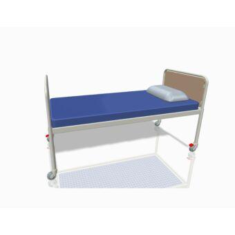 Egyszerű kórházi ágy, kerekes