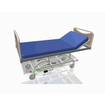 Állítható, 1 részes, kerekes - kórházi ágy