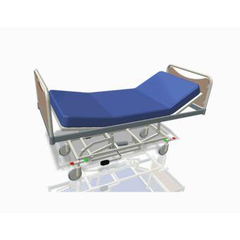 Állítható, 3 részes, kerekes - kórházi ágy