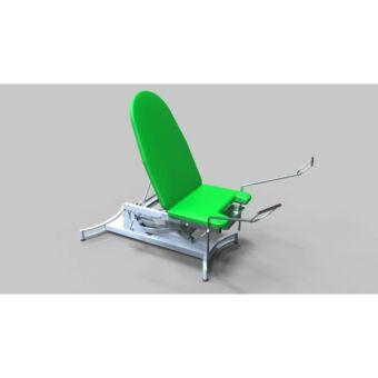 Tech-medical állítható magasságú nőgyógyászati vizsgálóasztal, rozsdamentes-hidraulikus