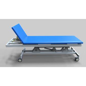 Tech-medical elektromos állítható magasságú vizsgáló asztal, kétkaros, porfestett - hidraulikus