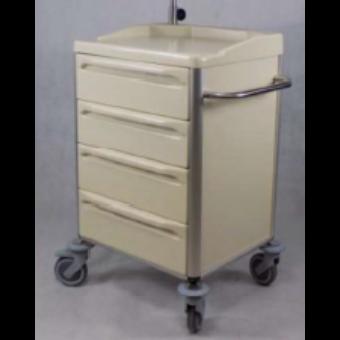 Fiókos tároló / szállító kocsi 56 - 4 fiókos