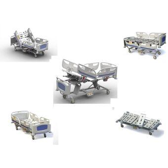 Matrix T40 elektromos kórházi ágy