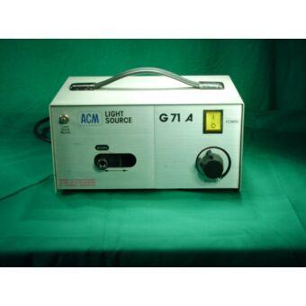 ACM G71A cold-light source, halogén hideg fényforrás