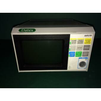 DATEX SATLITE SpO2 monitor