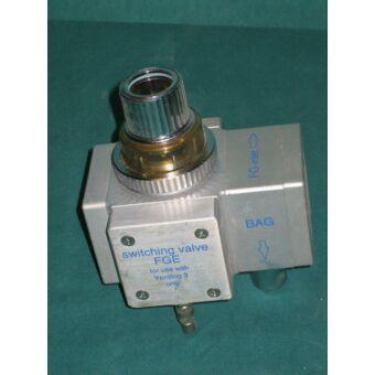 DRÄGER FGE valve: váltószelep Ventilog 3 készülékekhez