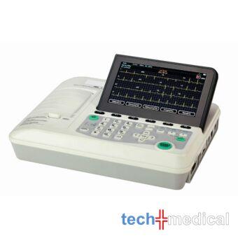 Digitális háromcsatornás EKG