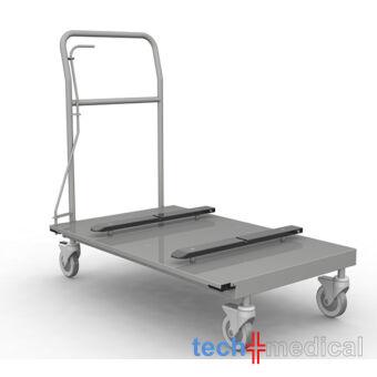 Rozsdamentes steril szállító kocsi