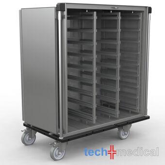 Rozsdamentes steril szállító szekrény