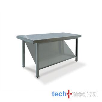 Rozsdamentes kisasztal