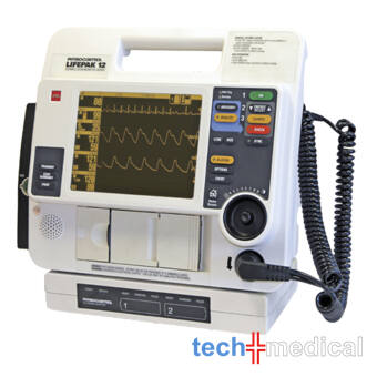 PHYSIO CONTROL Lifepak 12 -Monofázisos defibrillátor