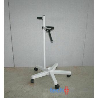 Palackkocsi 10 L, fehér, 5 antisztatikus kerék