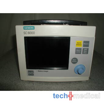 SIEMENS SC 6000 EKG készülék