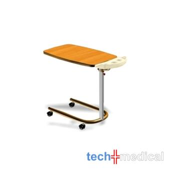 Étkező asztal lap tartótálcával tartó kórházi