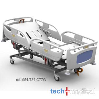 Luna T34 elektromosan állítható kórházi ágy, betegágy, kórtermi ágy