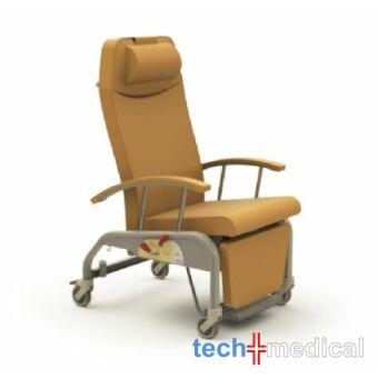 ZERO G Relax gondozószék - Ø100mm kerék, egyedi fék