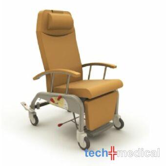ZERO G Relax gondozószék - Ø125mm kerék, központi fék