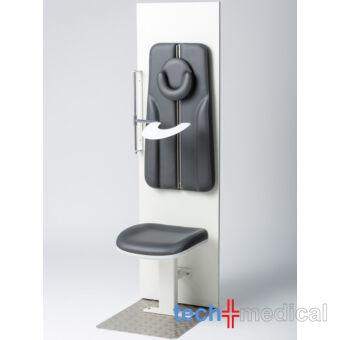 Coburg RöWa 4055 falra szerelhető kórházi röntgen szék