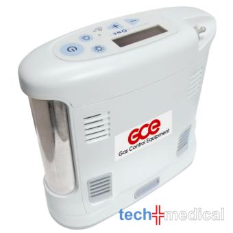 GCE Inogen G3 oxigén koncentrátor 16 cellás akkumulátorral