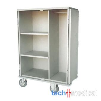 2/3+1/3 polcos ruha ágynemű szekrény tároló ágyazó kocsi