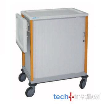 Orvosi papírokat, dokumentumokat szállító kartonozó szekrény