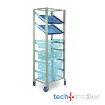 Opti Stock mobile 600 x 400-szimpla tároló szekrény