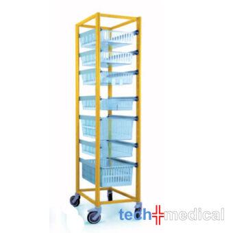 Opti Stock mobile 400x600-szimpla tároló szekrény