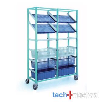 Opti Stock mobile 600x400-dupla tároló szekrény