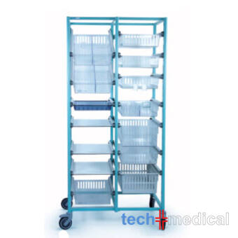 Opti Stock mobile 400x600-dupla tároló szekrény