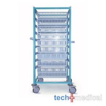 Opti Stock RP - szimpla 600, fedés nélkül tároló szekrény