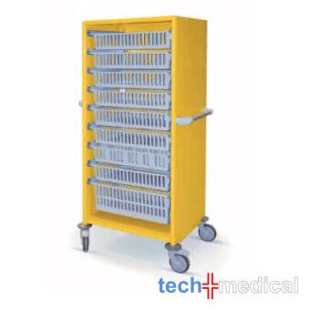 Opti Stock RP - szimpla 600 teljes fedéssel tároló szekrény