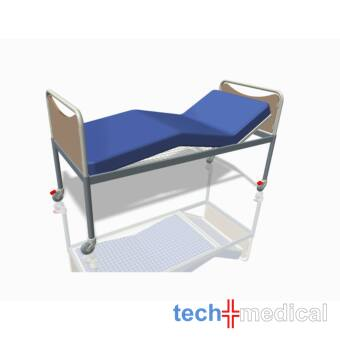 Állítható, 4 részes, kerekes - kórházi ágy