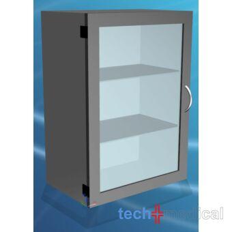 Falra szerelhető fém szekrény