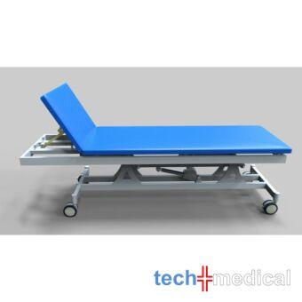Elektromos magasság állítású vizsgálóasztal - rozsdamentes