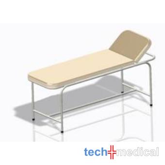 Belgyógyászati vizsgálóasztal, csővázas - rozsdamentes