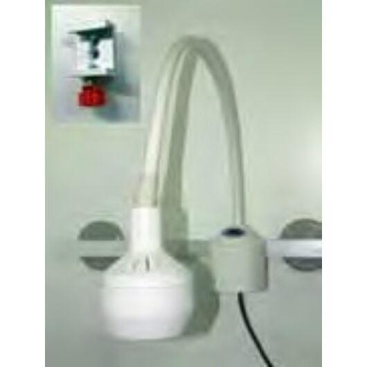 FLH2410 halogén vizsgáló lámpa, sínnel falra szerelhető