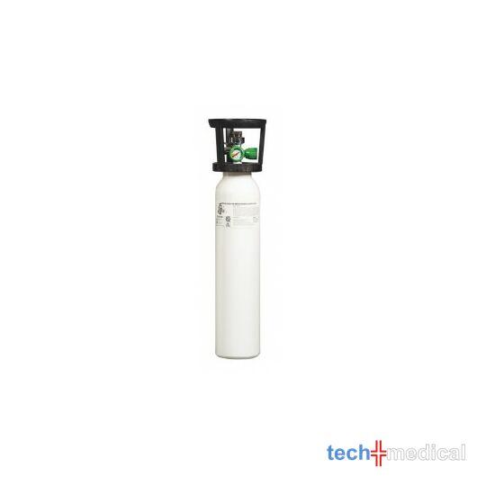 2 L-es oxigénpalack, kombinált palackszeleppel (15 l/perc + Nordic QC)