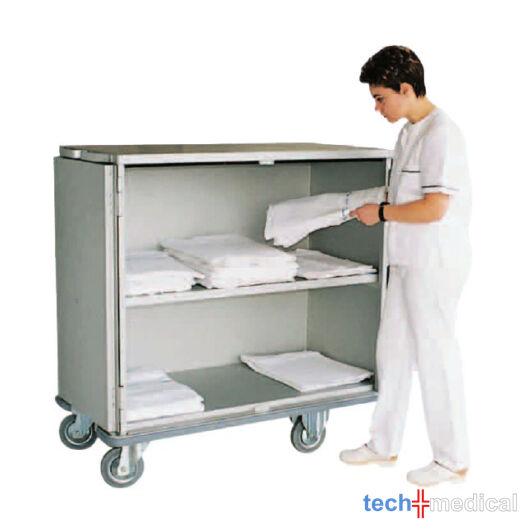 1 polcos ágynemű tároló kocsi ágyazó szekrény